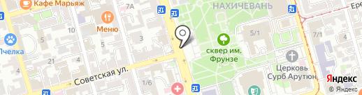 Фабрика печатей на карте Ростова-на-Дону