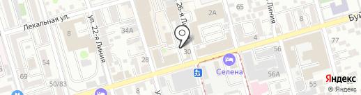 Автовираж-Эксперт на карте Ростова-на-Дону