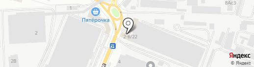 Сиеста на карте Ростова-на-Дону