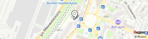 Тет-А-Тет на карте Ростова-на-Дону