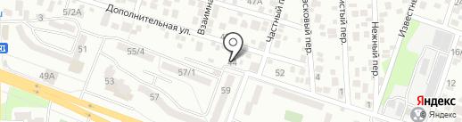 МираАнна на карте Ростова-на-Дону
