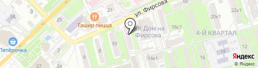 АвтоИнвест на карте Рязани