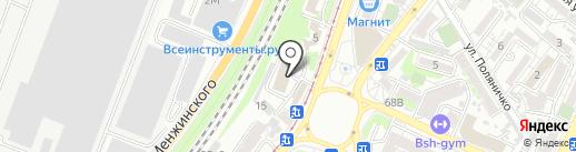 Бастион на карте Ростова-на-Дону