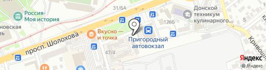 Смак на карте Ростова-на-Дону