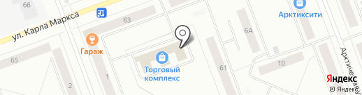 Елена на карте Северодвинска