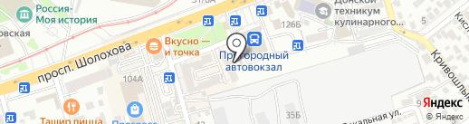 Europlat на карте Ростова-на-Дону