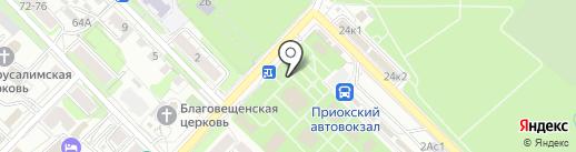 Хлебозавод №1 на карте Рязани