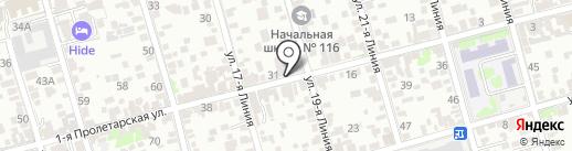 Александр на карте Ростова-на-Дону
