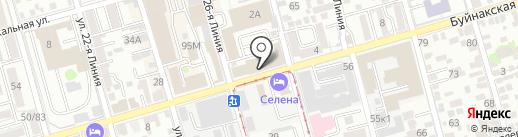 Росконсалтинг-Дон на карте Ростова-на-Дону