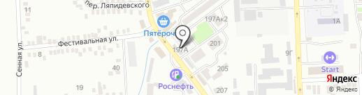 Батайское городское казачье общество на карте Батайска