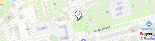 РИЛ на карте Рязани