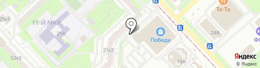 Лига Ставок на карте Ярославля