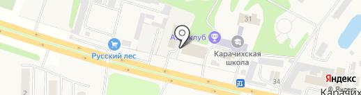 Мастер на карте Карачихи