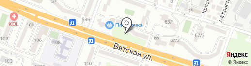 На Вятской, ТСН на карте Ростова-на-Дону