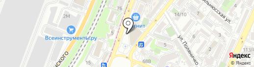 Двор чудес на карте Ростова-на-Дону