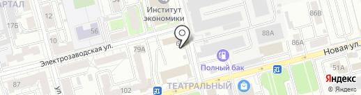 Спрут на карте Рязани