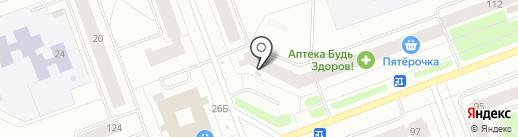 Продовольственный магазин на карте Северодвинска