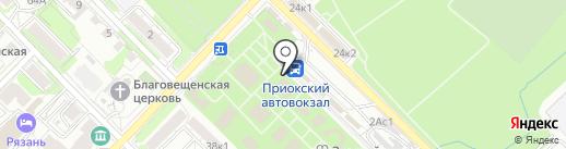 Магазин мебели на карте Рязани
