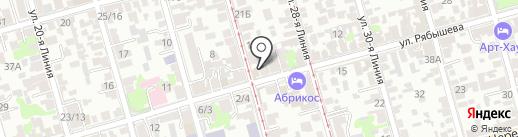 Megashop61.ru на карте Ростова-на-Дону