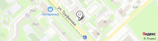 Привал на карте Ярославля