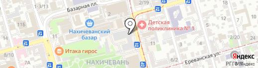 Донская гофротара на карте Ростова-на-Дону