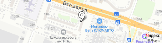 Ростовский электрик на карте Ростова-на-Дону