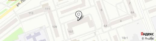 Инстрой на карте Северодвинска