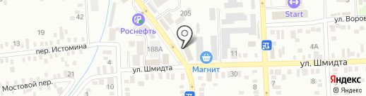 Банкомат, Юго-Западный банк Сбербанка России на карте Батайска