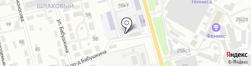 Рязанский колледж электроники на карте Рязани