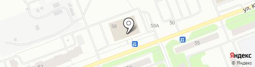 СтолБери на карте Северодвинска
