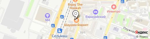 Спортбет на карте Ростова-на-Дону