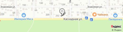 Мир Раков на карте Ростова-на-Дону