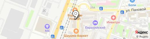 Маргаритка на карте Ростова-на-Дону
