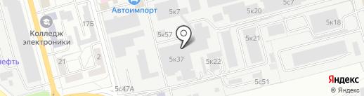 Комтекс на карте Рязани
