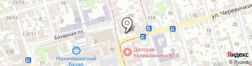 Строймикс на карте Ростова-на-Дону