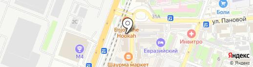 Южный ломбард на карте Ростова-на-Дону