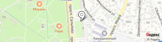 Пивная лавка на карте Ростова-на-Дону