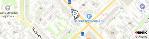 Магазин детской одежды на карте Рязани