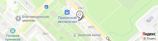 Зоомаркет №13 на карте Рязани