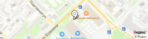 Лагуз Центр на карте Рязани