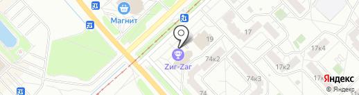 ZигZаг на карте Ярославля