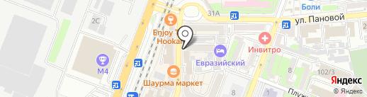 Горавто на карте Ростова-на-Дону