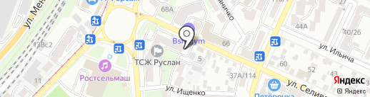 Адвокат Солод В.Ю. на карте Ростова-на-Дону