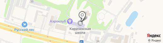 Ярославский Комбинат Малоэтажного Домостроения на карте Карачихи