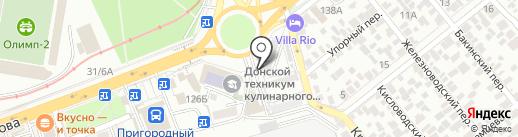 Варница на карте Ростова-на-Дону