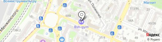 BSHGYM на карте Ростова-на-Дону