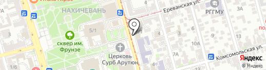 Банкомат, Альфа-банк на карте Ростова-на-Дону