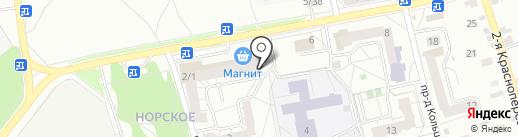 Хозяйственный на карте Ярославля