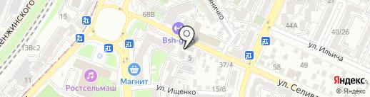 UNUM IN PAX на карте Ростова-на-Дону