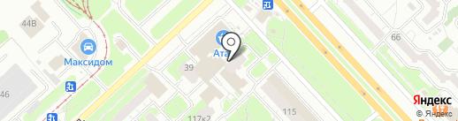 Ярвит, ЗАО на карте Ярославля